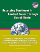 Assessing Sentiment in Conflict Zones Through Social Media: Case Study of Yemen Shows That Social Media Data…