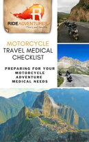 Motorcycle Travel Medical Checklist: Preparing for Your Motorcycle Adventure Medical Needs