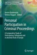 Personal Participation in Criminal Proceedings