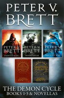The Demon Cycle Books 1-3 and Novellas: The Painted Man, The Desert Spear, The Daylight War plus The Great B…