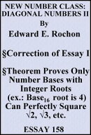New Number Class: Diagonal Numbers II