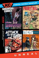 Kodansha Comics Digital Sampler UNREAL