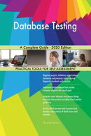 Database Testing A Complete Guide - 2020 Edition