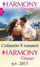 Cofanetto 8 Harmony Collezione n.9/2017