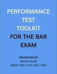 PerformanceTestToolkit(fortheBarExam)
