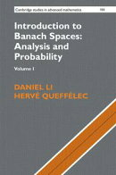 Introduction to Banach Spaces: Analysis and Probability: Volume 1