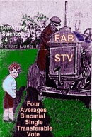 FAB STV: Four Averages Binomial Single Transferable Vote.