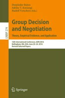 Group Decision and Negotiation: Theory, Empirical Evidence, and Application