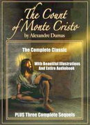 THE COUNT OF MONTE CRISTO AND THREE SEQUELS: THE SON OF MONTE CRISTO, EDMOND DANTES AND MONTE CRISTO'S DAUGH…