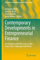 Contemporary Developments in Entrepreneurial Finance