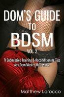 Dom's Guide To BDSM Vol. 2: 71 Submissive Training & Reconditioning Tips Any Dom/Master Must Know
