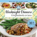 Weeknight Dinners 6 Ingredients or Less