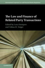 The Law and Finance of Related Party Transactions【電子書籍】