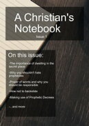 A Christians Notebook, Issue 1