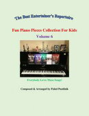 """Fun Piano Pieces Collection For Kids""-Volume 6"