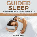 Guided Sleep, Insomnia and Anxiety Meditations Bundle Start Sleeping Smarter With Guided Meditation, Used fo…
