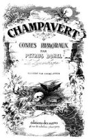 Champavert - Contes immoraux