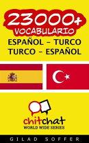 23000+ vocabulario español - turco