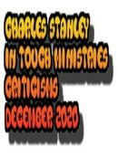 Charles Stanley In Touch Ministries Criticisms December 2020