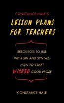 Constance Hale's Lesson Plans for Teachers
