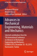 Advances in Mechanical Engineering, Materials and Mechanics