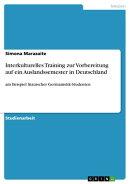 Interkulturelles Training zur Vorbereitung auf ein Auslandssemester in Deutschland