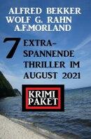 7 extra-spannende Thriller im August 2021: Krimi Paket
