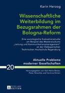 Wissenschaftliche Weiterbildung im Bezugsrahmen der Bologna-Reform