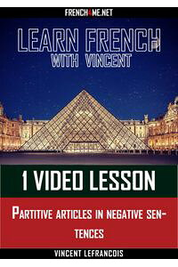 LearnFrenchwithVincent-1videolesson-Partitivearticlesinnegativesentences
