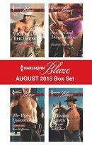 Harlequin Blaze August 2015 Box Set