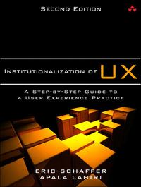 InstitutionalizationofUXAStep-by-StepGuidetoaUserExperiencePractice