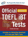 Official TOEFL iBT Tests Volume 1, Third Edition【電子書籍】[ Educational Testing Service ]