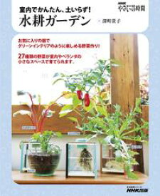NHK趣味の園芸 やさいの時間 室内でかんたん、土いらず! 水耕ガーデン【電子書籍】[ 深町貴子 ]