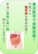 東洋医学で糖尿病を内臓から根本改善!