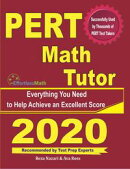 PERT Math Tutor: Everything You Need to Help Achieve an Excellent Score
