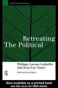 RetreatingthePolitical