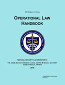 18th Edition US Army Operational Law Handbook