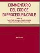 Commentario del Codice di procedura civile. III. Tomo secondo - artt. 275-322