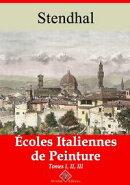 Écoles italiennes de peinture ? tome i, ii et iii