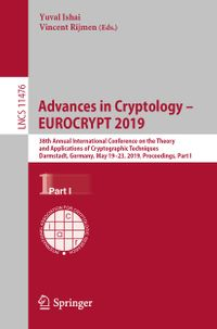 Advances in Cryptology – EUROCRYPT 2019