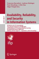 Availability, Reliability, and Security in Information Systems