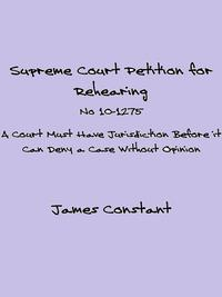 SupremeCourtPetitionForRehearingNo10-1275