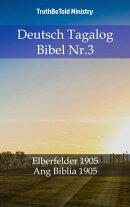 Deutsch Tagalog Bibel Nr.3