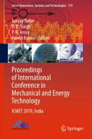 Proceedings of International Conference in Mechanical and Energy Technology