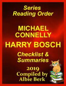 Michael Connelly's Harry Bosch Series Reading Order Updated 2019: Compiled by Albie Berk
