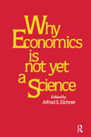 Why Economics is Not Yet a Science