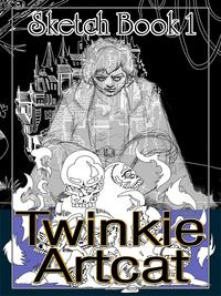 Twinkie Artcat Sketch Book 1