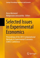 Selected Issues in Experimental Economics