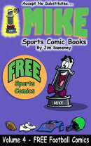 MIKE's FREE Sports Comic Book on Football