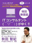 ITコンサルタント ( ̄▽ ̄;)がゆく!!